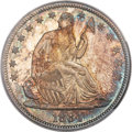 Seated Half Dollars, 1884 50C MS67 PCGS. CAC. WB-102, R.2....