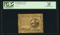 Colonial Notes:Continental Congress Issues, Continental Currency May 20, 1777 $2 PCGS Apparent Very Fine 35.....