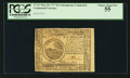 Colonial Notes:Continental Congress Issues, Continental Currency May 20, 1777 $6 PCGS Choice About New 55.. ...