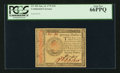 Colonial Notes:Continental Congress Issues, Continental Currency January 14, 1779 $70 PCGS Gem New 66PPQ.. ...