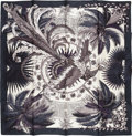 "Luxury Accessories:Accessories, Hermes 90cm Black & White ""Mythiques Phoenix,"" by Laurence Bourthoumieux Silk Scarf. Excellent Condition. 36"" Width x ..."