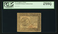 Colonial Notes:Continental Congress Issues, Continental Currency April 11, 1778 $5 PCGS Superb Gem New 67PPQ.. ...