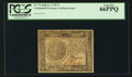 Colonial Notes:Continental Congress Issues, Continental Currency April 11, 1778 $7 PCGS Gem New 66PPQ.. ...