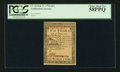 Colonial Notes:Continental Congress Issues, Continental Currency February 17, 1776 $2/3 PCGS Choice About New 58PPQ.. ...