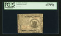 Colonial Notes:Continental Congress Issues, Continental Currency February 17, 1776 $1 PCGS Choice New 63PPQ.. ...