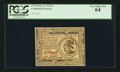 Colonial Notes:Continental Congress Issues, Continental Currency February 17, 1776 $3 PCGS Very Choice New 64.....