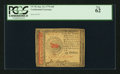 Colonial Notes:Continental Congress Issues, Continental Currency January 14, 1779 $45 PCGS New 62.. ...