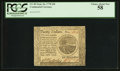 Colonial Notes:Continental Congress Issues, Continental Currency September 26, 1778 $20 PCGS Choice About New58.. ...