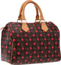 """Luxury Accessories:Bags, Louis Vuitton Limited Edition Monogram Canvas Cerises Speedy 25 Bag. Very Good to Excellent Condition . 10"""" Width x 7"""" He..."""