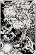 Original Comic Art:Splash Pages, Bruce Zick and Mike DeCarlo Thor #466 Page 17 Original Art(Marvel, 1993)....