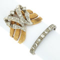 Estate Jewelry:Rings, Diamond, Gold Rings. ... (Total: 2 Items)