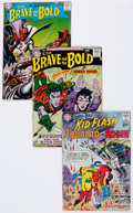 Silver Age (1956-1969):Superhero, The Brave and the Bold Group (DC, 1957-64) Condition: Average GD/VG.... (Total: 14 Comic Books)