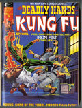 Bronze Age (1970-1979):Miscellaneous, The Deadly Hands of Kung Fu Partial Issues Bound Volumes (Marvel,1974-75)....
