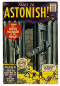 Silver Age (1956-1969):Horror, Tales to Astonish #1 (Marvel, 1959) Condition: VG....