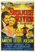 "Movie Posters:Musical, Swanee River (20th Century Fox, 1939). One Sheet (27"" X 41""). StyleB...."
