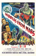 "Movie Posters:Science Fiction, Invaders From Mars (20th Century Fox, 1953). One Sheet (27"" X 41"")...."