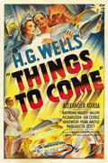 "Movie Posters:Science Fiction, Things to Come (United Artists, 1936). One Sheet (27"" X 41""). ..."