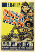 "Movie Posters:Western, Union Pacific (Paramount, 1939). One Sheet (27"" X 41""). ..."