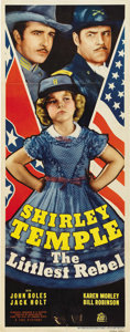 "Movie Posters:Musical, The Littlest Rebel (20th Century Fox, 1935). Insert (14"" X 36"")...."