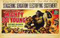 "Movie Posters:Adventure, Mighty Joe Young (RKO, 1949). Window Card (22"" X 14"") Style D. ..."