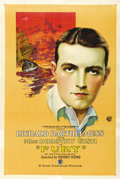 "Movie Posters:Adventure, Fury (First National, 1923). One Sheet (27"" X 41""). ..."