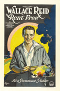 "Movie Posters:Romance, Rent Free (Paramount, 1922). One Sheet (27"" X 41""). ..."