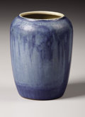 Ceramics & Porcelain, American:Modern  (1900 1949)  , An American Pottery Vase. Newcomb Pottery, New Orleans, Louisiana.Circa 1920. Glazed earthenware. Marks: NC, V22, F, AA...