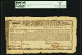 Colonial Notes:Massachusetts, Massachusetts Commodity Bond £270 January 1, 1780 Anderson MA-22PCGS Apparent Very Fine 25.. ...
