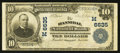 National Bank Notes:Missouri, Hannibal, MO - $10 1902 Plain Back Fr. 624 The Hannibal NB Ch. #(M)6635. ...