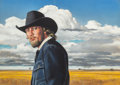 Mainstream Illustration, Ren Wicks (American, 1911-1998). Lonely Plains, unknown movieposter original artwork. Gouache on board. 19.5 x 27.25 in...