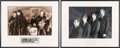 Music Memorabilia:Autographs and Signed Items, Beatles - Two Pete Best Signed Lithographs... (Total: 2 Items)