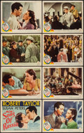 "Movie Posters:War, Song of Russia (MGM, 1944). Lobby Card Set of 8 (11"" X 14""). War..... (Total: 8 Items)"