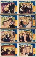 "Movie Posters:Musical, Birth of the Blues (Paramount, 1941). Lobby Card Set of 8 (11"" X 14""). Musical.. ... (Total: 8 Items)"