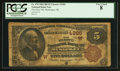 National Bank Notes:Oklahoma, Muscogee, OK - $5 1882 Brown Back Fr. 478 The First NB Ch. # (W)4385. ...