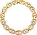 Estate Jewelry:Necklaces, Diamond, Gold Necklace, Salavetti. ...