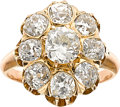 Estate Jewelry:Rings, Antique Diamond, Gold Ring. ...