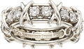 Estate Jewelry:Rings, Diamond, Platinum Eternity Ring, Schlumberger Studios for Tiffany & Co.. ...