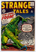 Silver Age (1956-1969):Adventure, Strange Tales #89 (Marvel, 1961) Condition: GD....
