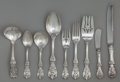 Silver & Vertu:Flatware, A SEVENTY-SIX PIECE REED & BARTON FRANCIS I PATTERN SILVER FLATWARE SERVICE, Taunton, Massachusetts, designed 19... (Total: 76 )