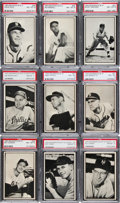 Baseball Cards:Lots, 1953 Bowman Black & White PSA NM-MT Collection (15). ...