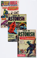 Silver Age (1956-1969):Superhero, Tales to Astonish Group (Marvel, 1962-63) Condition: Average VG....(Total: 6 Comic Books)