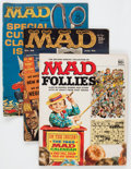 Magazines:Mad, Mad Magazine Plus Satire Group (EC and Others, 1950s-60s)Condition: Average GD.... (Total: 10 Comic Books)