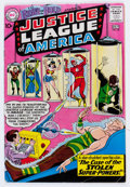 Silver Age (1956-1969):Superhero, The Brave and the Bold #30 Justice League of America (DC, 1960) Condition: VG....