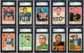 Football Cards:Sets, 1959 & 1960 Topps Football Complete Set Pair (2). ...