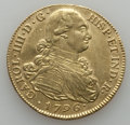 Colombia, Colombia: Charles IV gold 8 Escudos 1796 P-JF VF/XF Cleaned,...