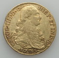 Colombia, Colombia: Charles IV gold 8 Escudos 1795 NR-JJ VF Cleaned,...
