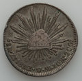Mexico, Mexico: Republic Zacatecas 8 Reales Pair 1832-38,... (Total: 2coins)