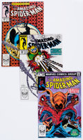 Modern Age (1980-Present):Superhero, The Amazing Spider-Man Group (Marvel, 1983-88) Condition: AverageNM-.... (Total: 65 Comic Books)