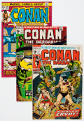Bronze Age (1970-1979):Adventure, Conan the Barbarian Box Lot (Marvel, 1971-80) Condition: Average FN....
