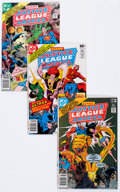 Modern Age (1980-Present):Superhero, Justice League of America Box Lot (DC, 1978-87) Condition: AverageVF....